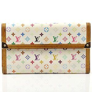 Auth Louis Vuitton Portefeiulle Tresor #N8577V71